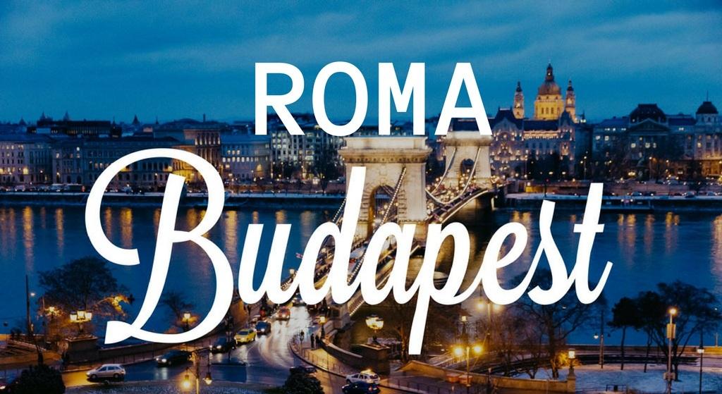 ROMA BUDAPEST TURU